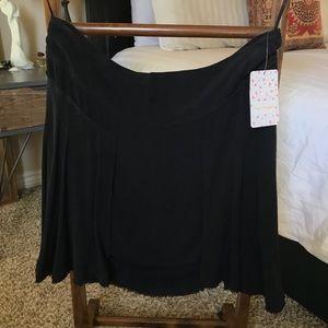 Free People black skirt